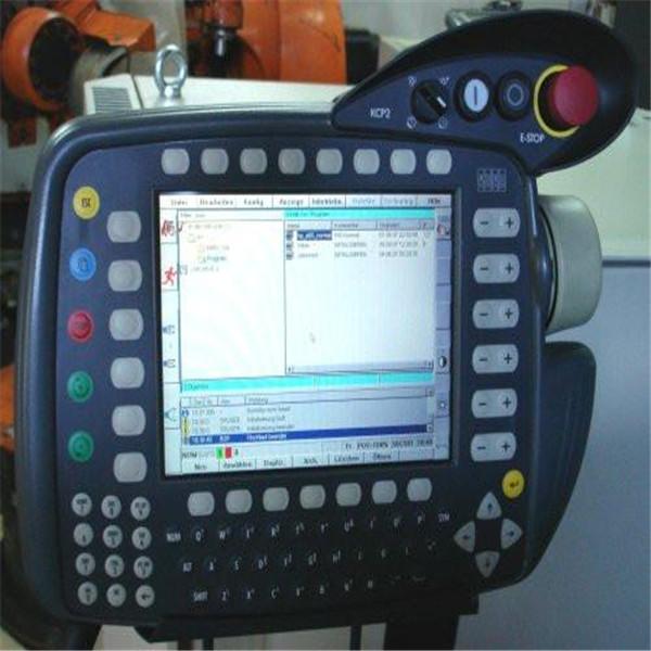 库卡机器人示教器电缆线维修步骤