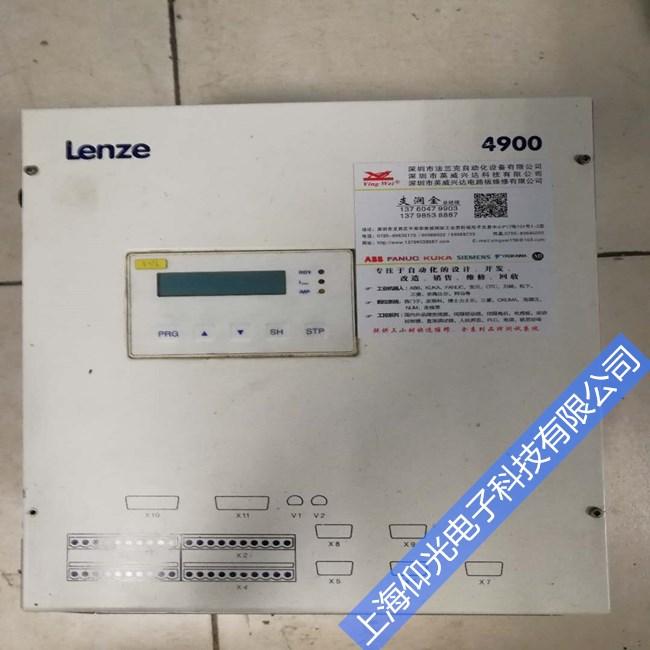 LENZE伦茨直流调速器维修有显示无输出故障维修