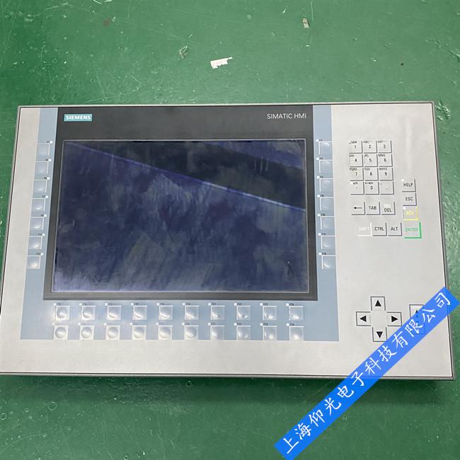西门子KP1200内外屏幕坏黑屏故障速修,6AV2124-1MC01-0AX0碎屏快修