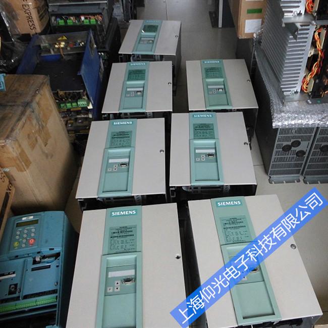 西门子直流调速器维修6RA7085报警代码F042/F043维修故障上海