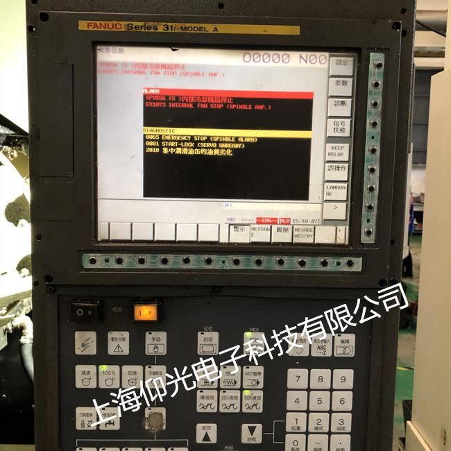 发那科数控系统维修操控面板,系统显示屏无显示黑屏专业修理快