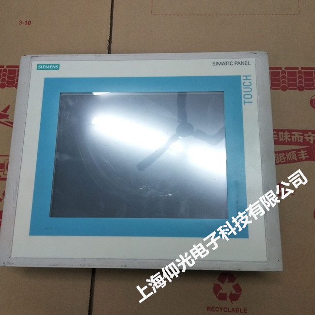 西门子触摸屏维修 SMART700系列无显示花屏修理 当天修好