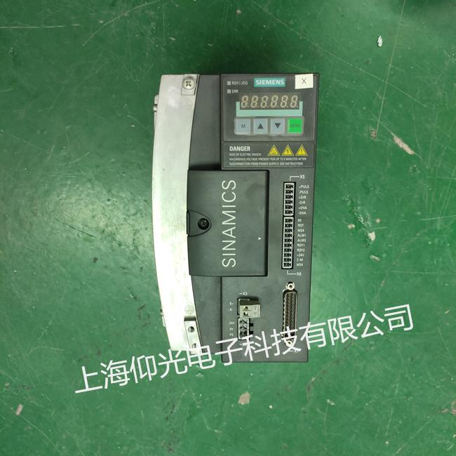 西门子V60系列驱动器维修 6SL3210-5CC21-0UA0-1运行中报警修理