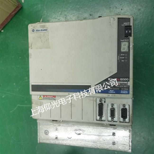 AB伺服驱动器1394-SJT05-C-RL报警e19故障维修 可测试