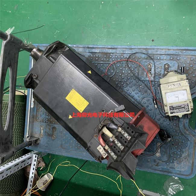 发那科伺服电机维修常见故障A06B-1411-B550#0R02主轴电机报警修理