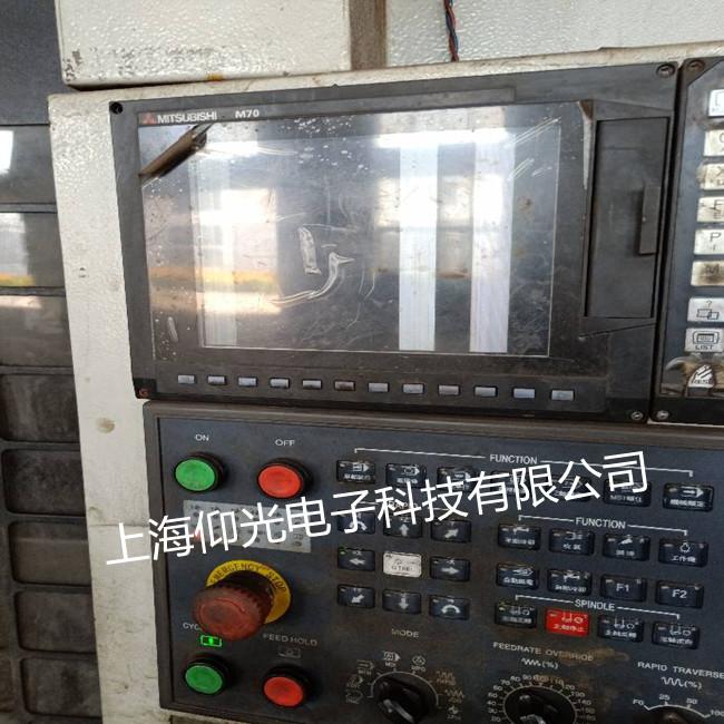 三菱数控系统维修上电黑屏