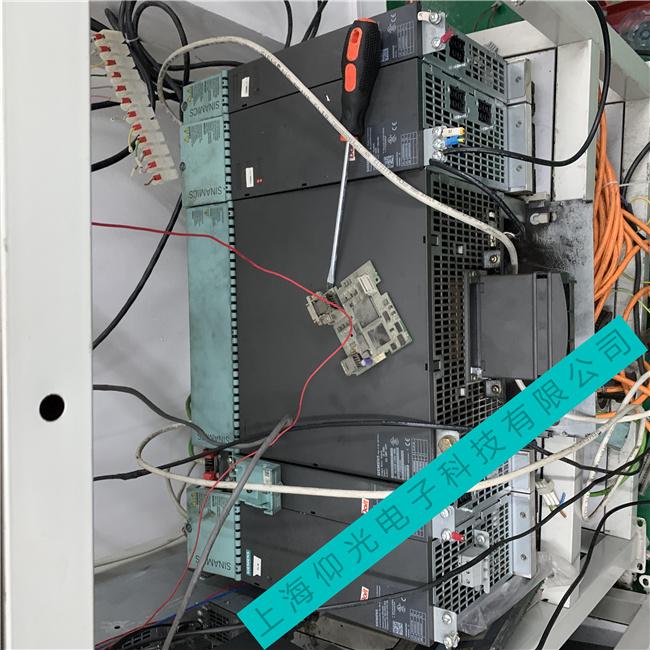 西门子S120伺服驱动器RDY亮红灯闪烁