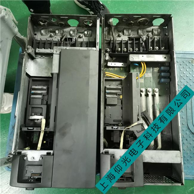 西门子6SE70大功率变频器启动就报F002