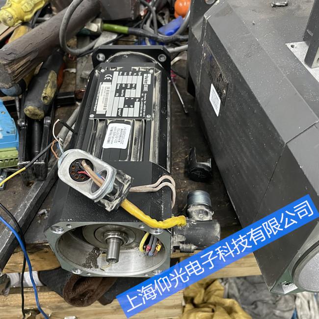 派克伺服电机通电异响抖动维修电话