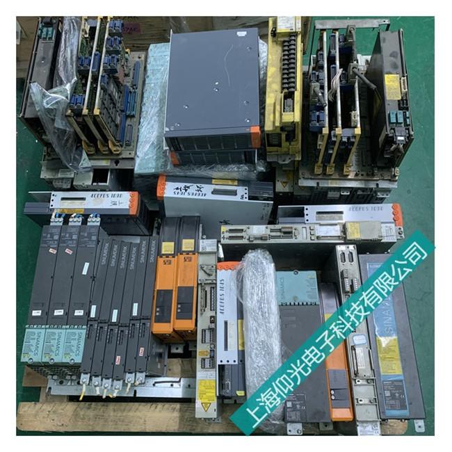 西门子伺服驱动模块损坏维修方法和故障判断