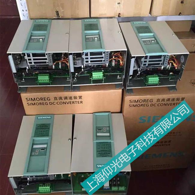 西门子直流调速器6RA80显示F60062维修电话