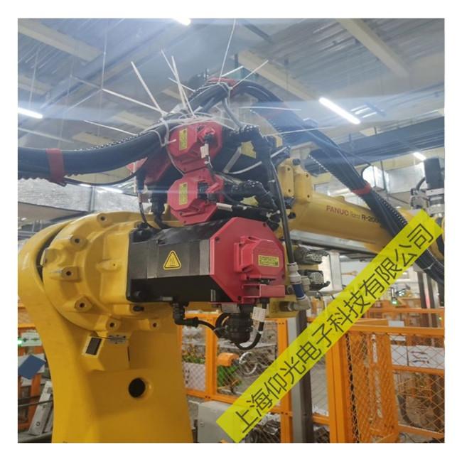 发那科机器人伺服电机维修轴承过热故障排查