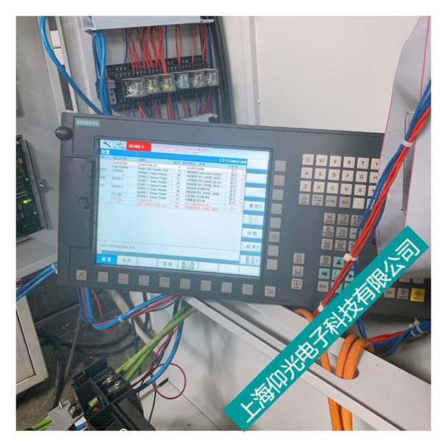 西门子828d操作面板维修现状