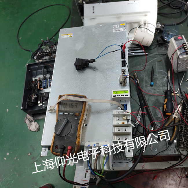 专业维修力士乐DKC系列伺服驱动器 显示报警F219/F220修理分析