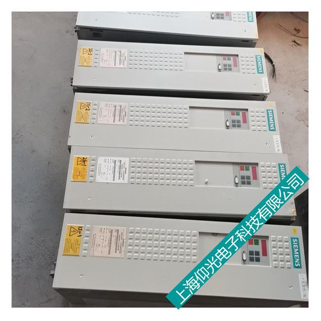 上海嘉定西门子6se70变频器报F054/F056故障维修