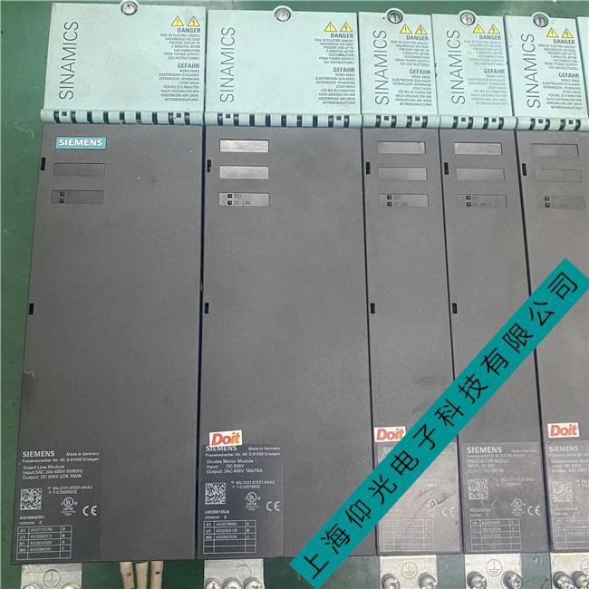 西门子802C伺服器维修短期内驱动故障维修分析